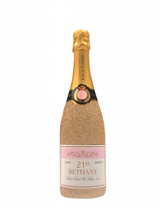personalised-champagne-bottle-gold-glitter