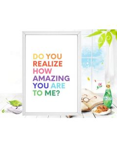 """"""" You are Amazing"""" - Inspirational Wall Art"""