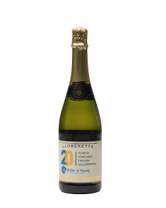 Personalised Corporate Branded Non Alcoholic Fizz