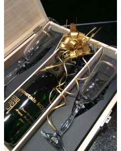 Luxury Corporate Branded Champagne & Flute Gift Set