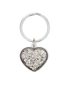 silver-heart-keyring-with diamantes