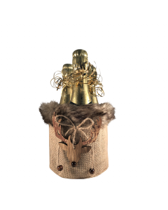 faux-fur-mini-personalised-champagne-gift