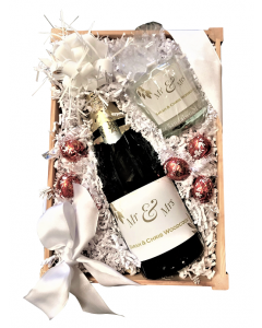 Just for You - Luxury Champagne & Chocolates Hamper - with Personalised Scented Candle
