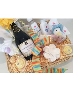 The Baby Shower Basket - Luxury Personalised Prosecco Gift