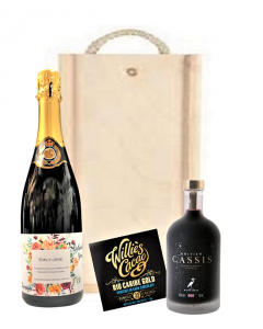 Personalised-prosecco-and-cassis-gift-set-in-wooden-presentation-box
