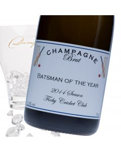 """Luxury Grande Reserve Champagne - """"Anyone For Cricket?"""""""