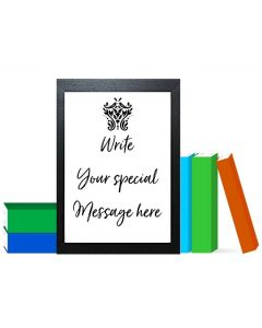 """""""Say it in Your Own Words"""" - Personalised Wall Art"""