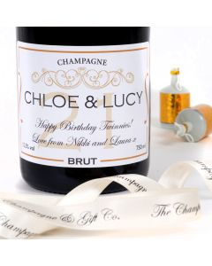Personalised 21st Birthday Champagne