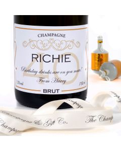Personalised 40th Birthday Champagne