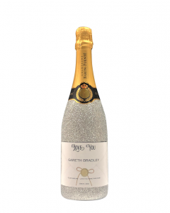 personalised-champagne-bottle-silver-glitter