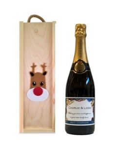 Rudolph-Gift-Box-of-Personalised-Champagne