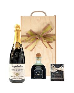 Personalised-Champagne-and-Patron-XO-Cafe-Tequila-Liqueur-gift-set