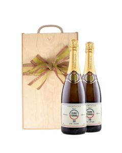 Duo-Corporate-Branded-Champagne-Wooden-Box