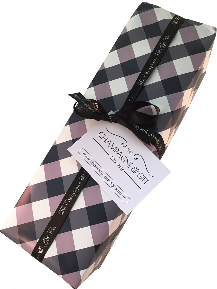 smart business champagne-gift-wrap