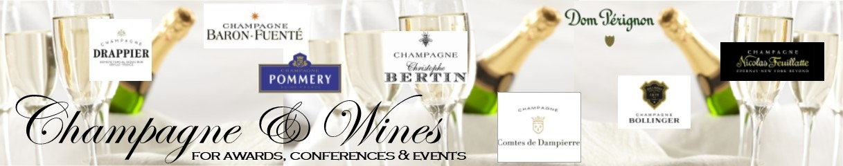 champagne for events banner