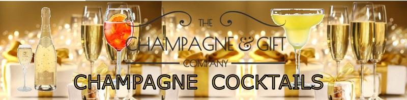 Champagne cocktails banner