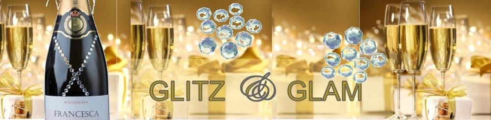 glitz and glam champagne