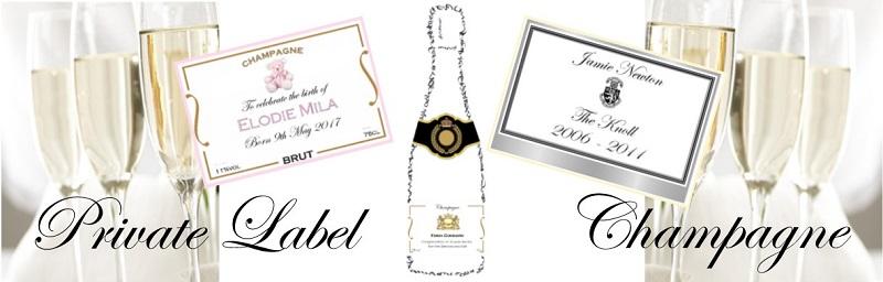 Private label champagne