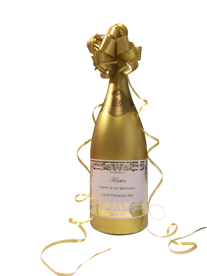 Gold Champagne for International Delivery