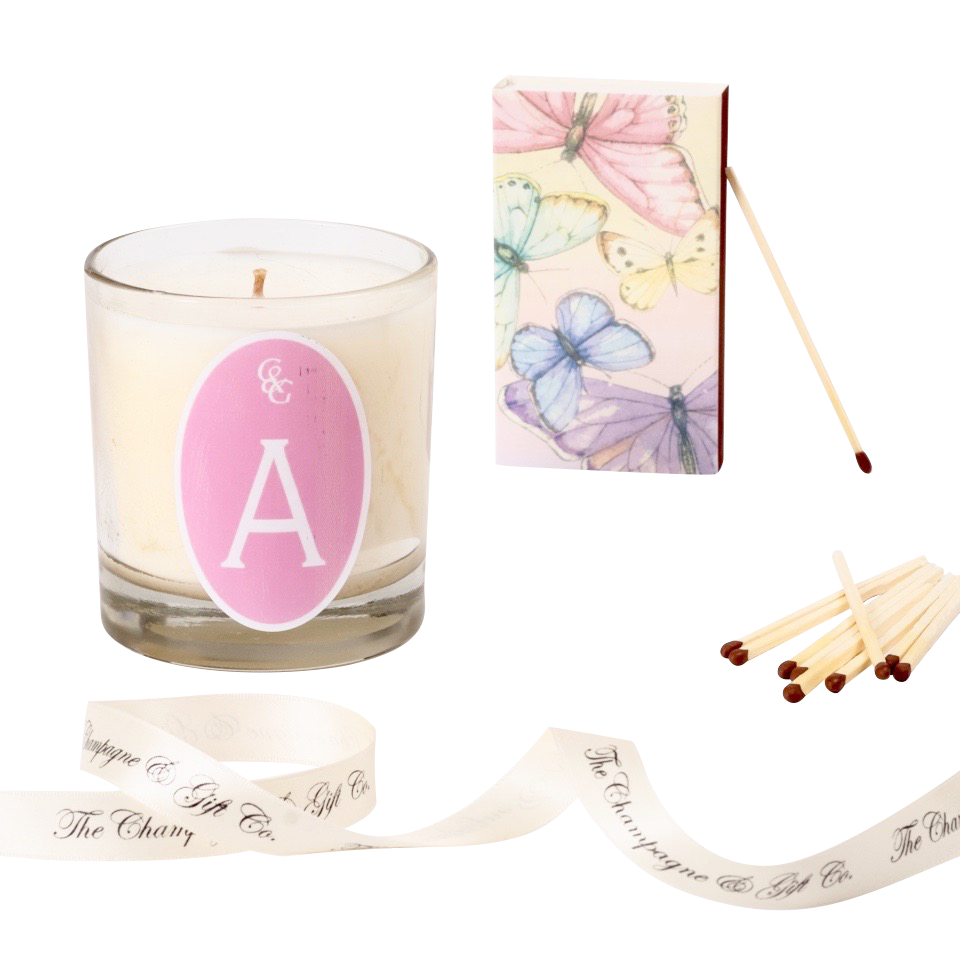 Personalised-Scented-candle-gift-with-initial