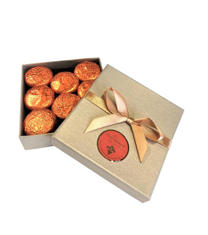 orange-cream-chocolate-truffles-in-gold-box