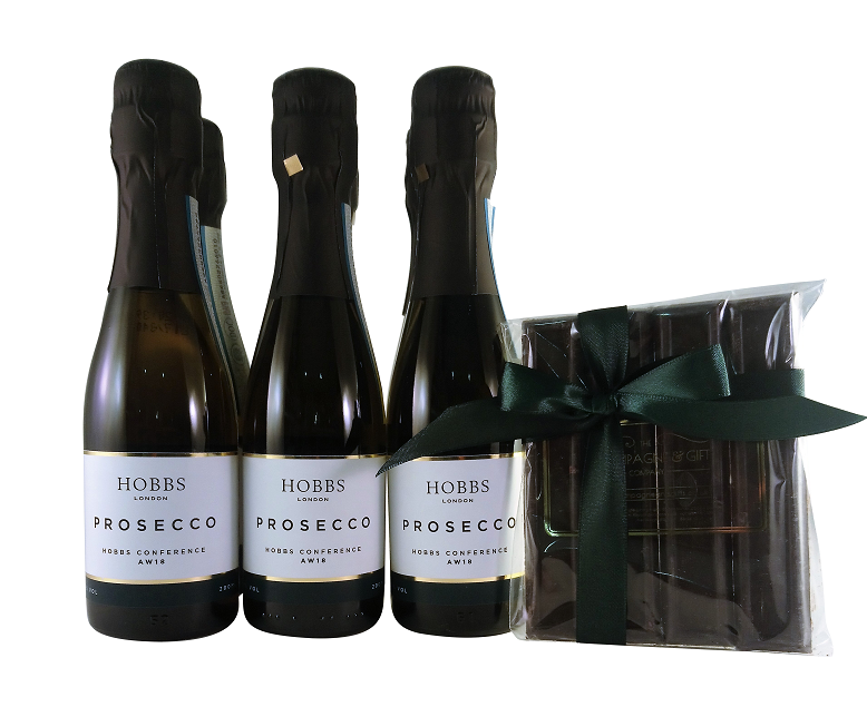 branded-chocolate-and-branded-mini-prosecco