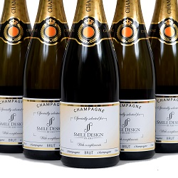 branded champagne for events and celebrations