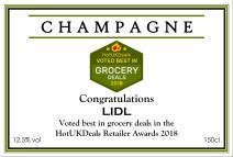 Corporate champagne label24