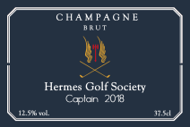 corporate champagne label 23