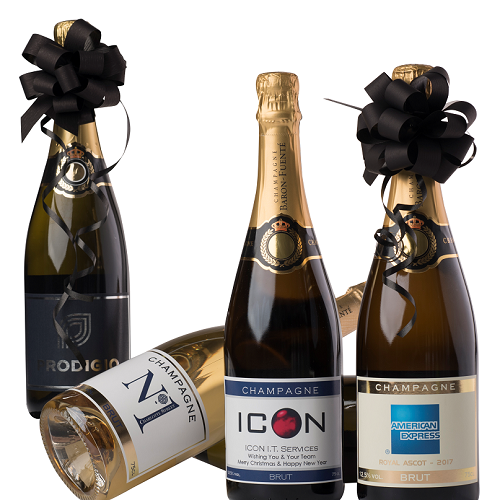 Corporate Champagne with your own logo