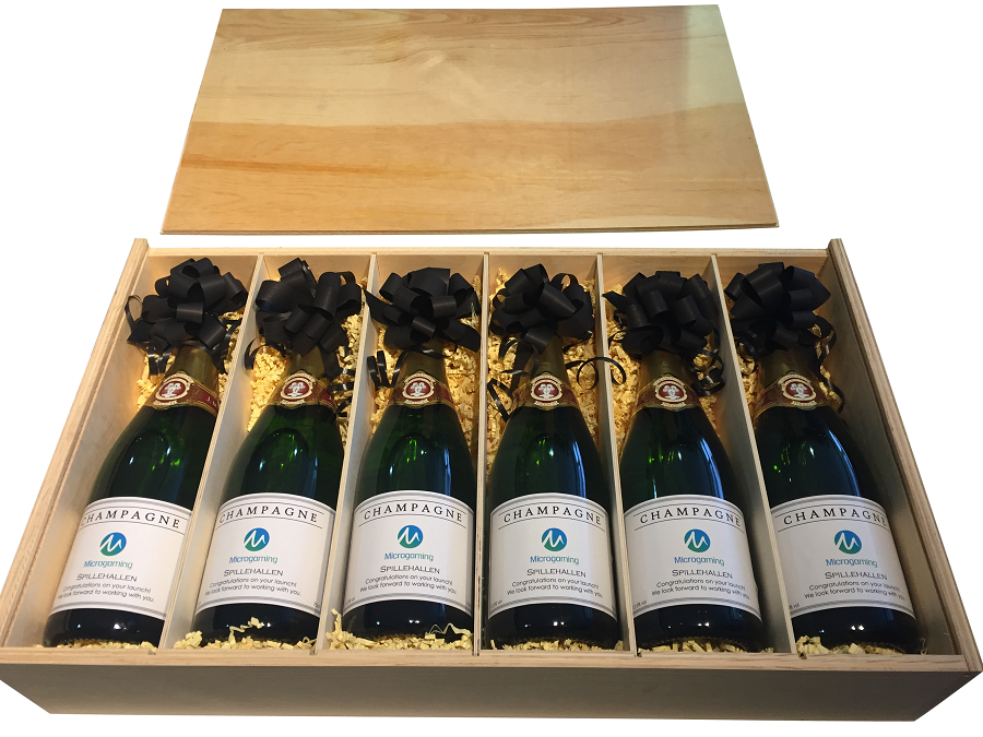 corporate-champagne-bottles-showing-different-labels