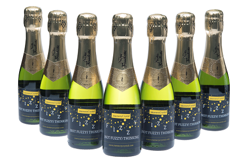 corporate miniature champagne for event