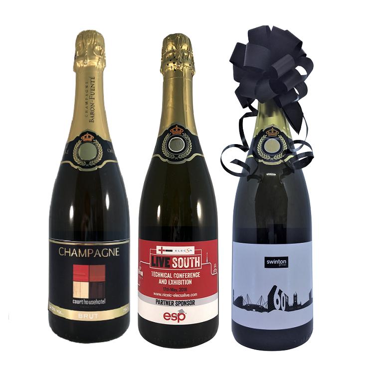 corporate-event-champagne-botttles