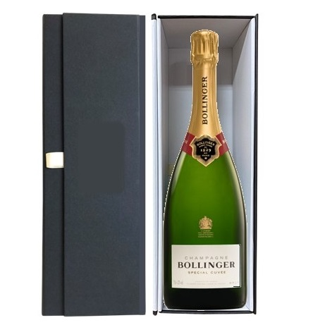 Bollinger-Champagne-|Gift-Set-Black-Box