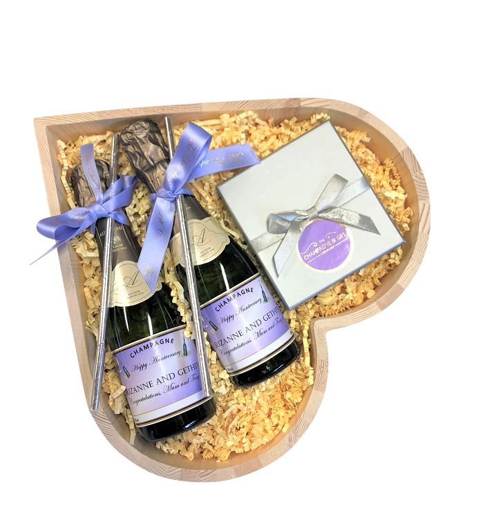 Allegro Miniature Champagne Hamper