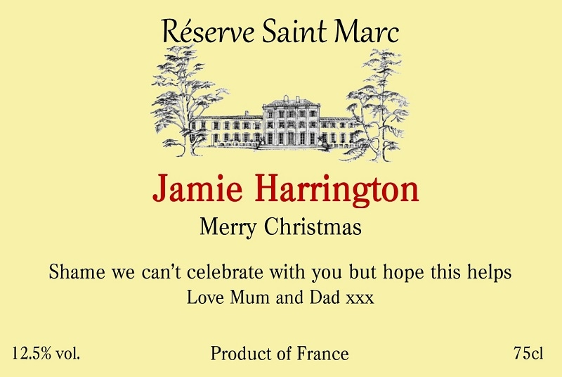 Merry-Christmas-personalised-wine label