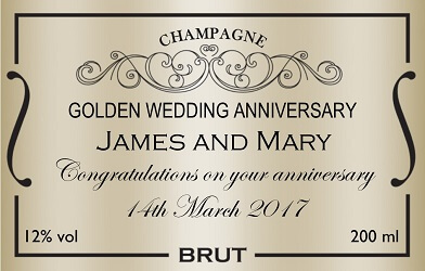 personalised-champagne-label-golden-wedding-anniversary