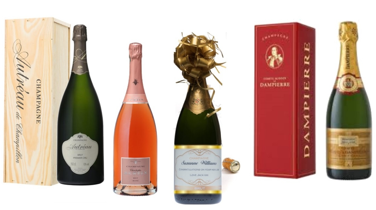 champagne magnum selection