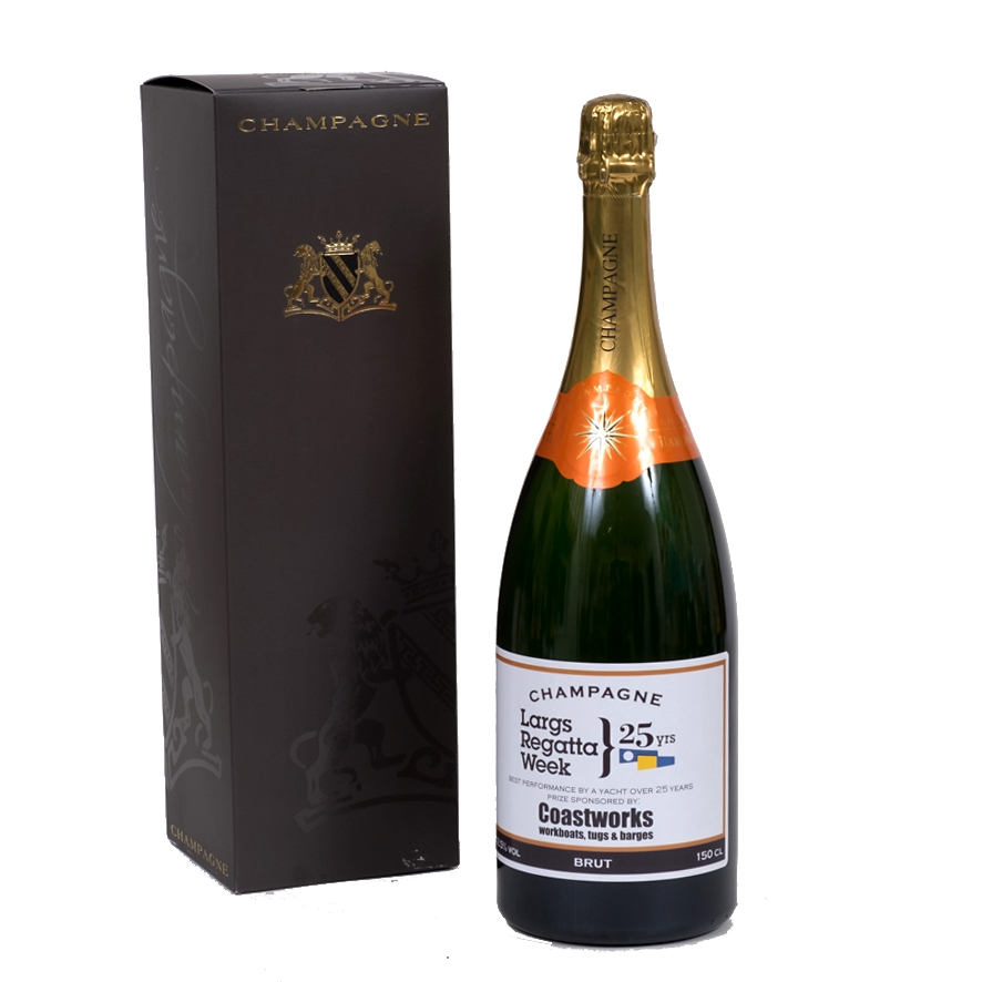 champagne magnum in presentation box