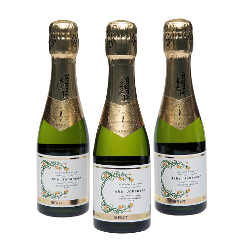 Mini-Personalised-Champagne-Bottles-with-beautiful-label