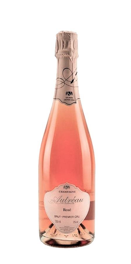 autreau premier cru rose champagne bottle
