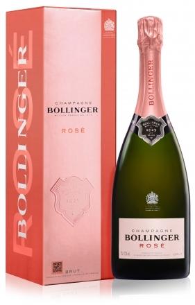 bollinger rose champagne in gift box