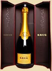 krug grande cuveé champagne