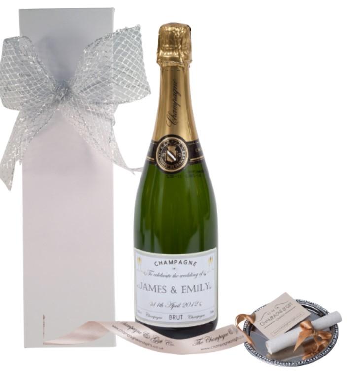 Personalised-Wedding-Champagne-whitegift-box
