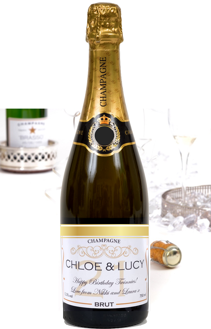Personalised Wedding Champagne - Signature Grande Reserve