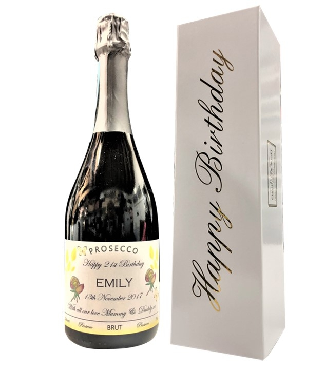 Personalised prosecco-in-happy-birthday-box