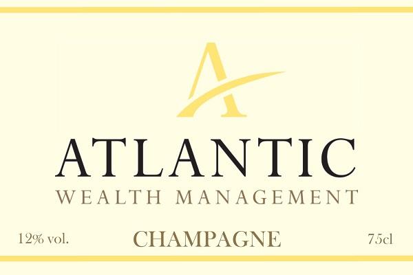 corporate champagne label