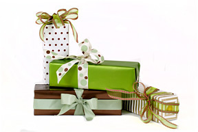 champagne-bottles-gift-wrapped
