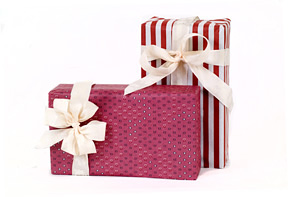 champagne gift wrapping