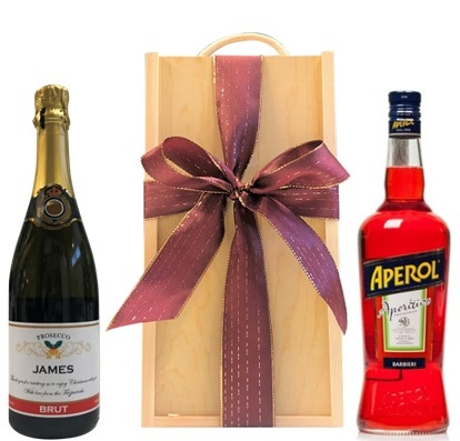 Champagne Gift in Map of the world box